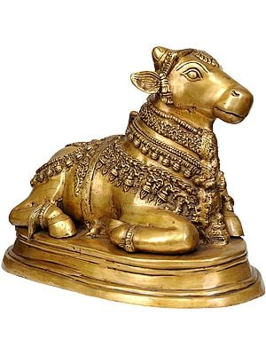 The Gorgeously Adorned Nandi, Shiva's Devoted Vahan