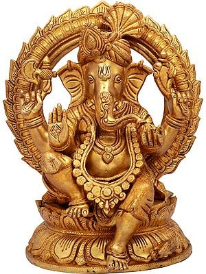 Ganesha Turbaned, The Beloved Of Devotees Worldwide