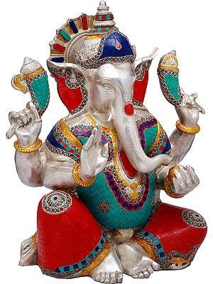 An Inlay Ganesha