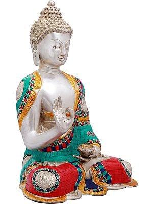 Gautam Buddha in Vitark Mudra