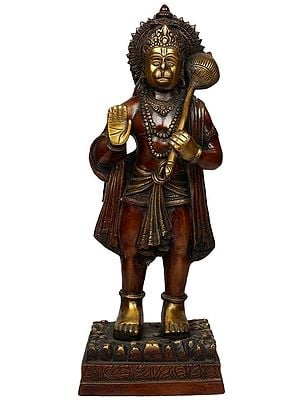 Standing Hanuman Blesses You