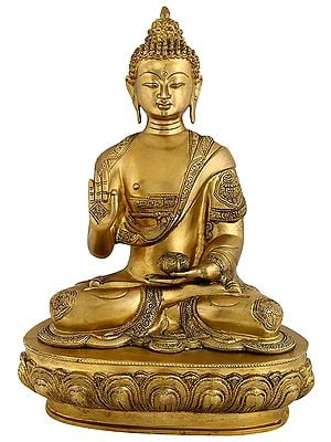 Seated Buddha, Glowing With Enlightenment
