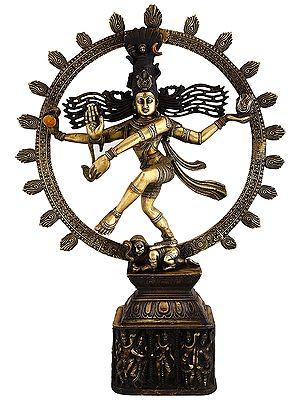 Lord Nataraj Brass Statue