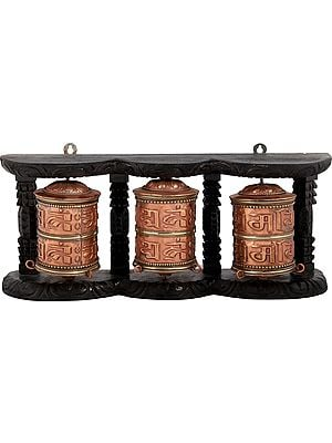 Tibetan Buddhist Prayer Wheels - Made in Nepal