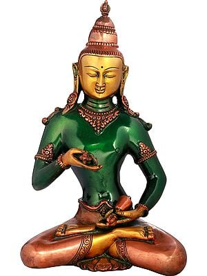Tibetan Buddhist Deity Vajrasattva - Holder of Thunderbolt and Bell