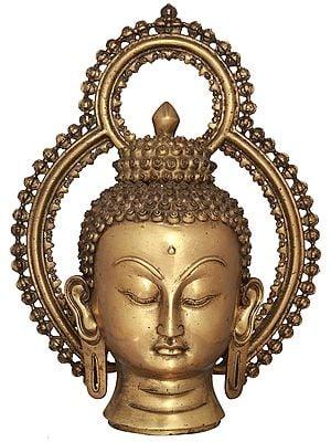 Buddha Head from Nepal - Tibetan Buddha