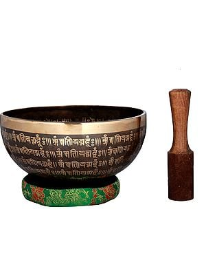 Tibetan Buddhist Vishwa-Vajra Singing Bowl
