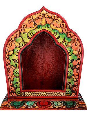 Tibetan Buddhist Deity Altar - Made In Nepal