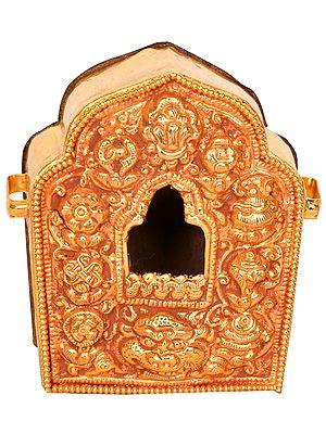 Tibetan Buddhist Nepalese Gau Box