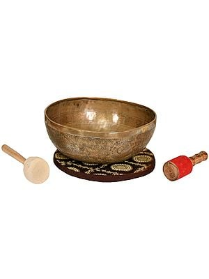 Tibetan Buddhist Superfine Singing Bowl