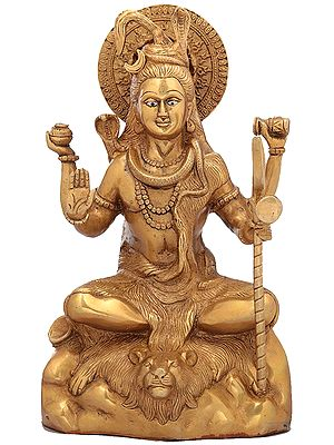 Lord Shiva In Blessing Mudra