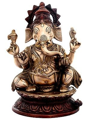 Sitted Lord Ganesha