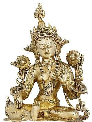 Green Tara Seated (Tibetan Buddhist Deity)