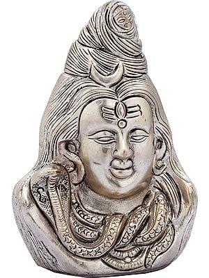 Lord Shiva Head (Small Statue)
