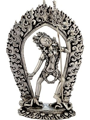 Tibetan Buddhist Vajrayogini Naro Kha Chod (Sarvabuddha Dakini) - Made in Nepal