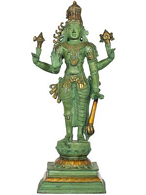 Harihara, An Example Of Eclectic Indian Iconography
