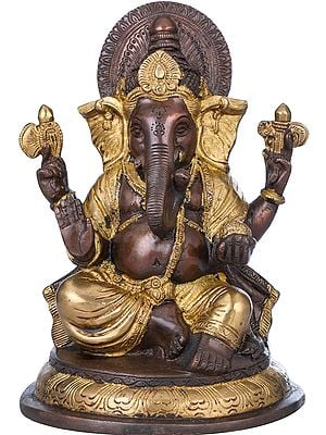 Blessing Lord Ganesha
