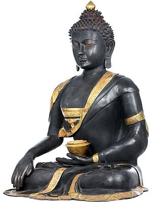 Large Size Buddha in Earth Touching Gesture (Tibetan Buddhist)