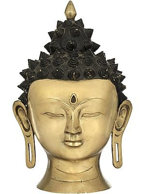Tibetan Buddhist  Lord Buddha Head - Made in  Nepal