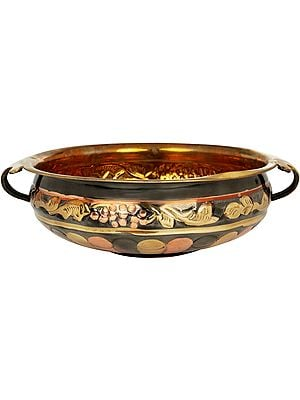 Colorful Urli Bowl From South India