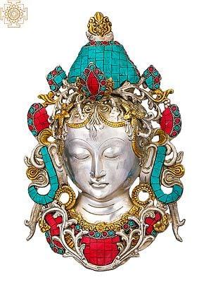 Tibetan Buddhist Deity Tara Mask (Wall Hanging)
