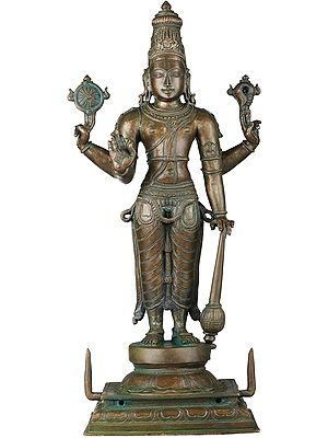 Superfine Standing Lord Vishnu