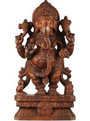 Ekadanta Standing Ganesha