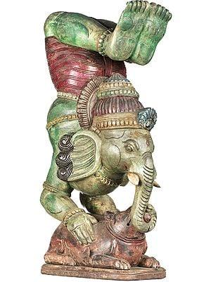 Ganesha in Yoga Asana
