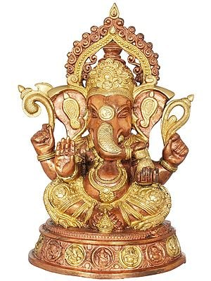 Crowned Ganesha - The Most Auspicious Deity