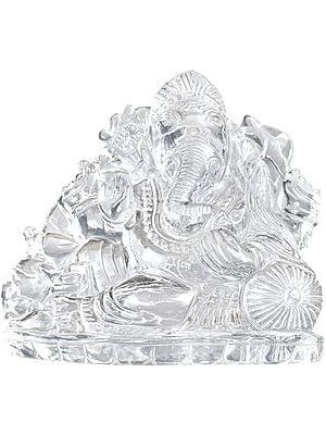 Shri Ganesha in Crystal