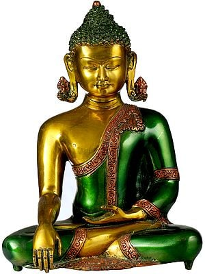The Buddha Invoking the Earth Goddess to be His Witness to the Attainment of Supreme Enlightenment