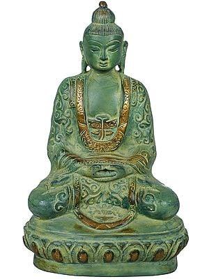 Tibetan Buddhist Lord Buddha In Dhyana Mudra (Meditation)