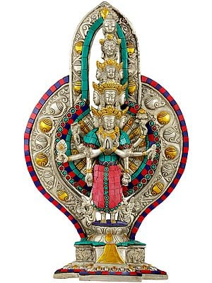 Tibetan Buddhist Deity Thousand Armed Avalokiteshvara