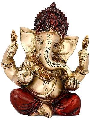 Modak Lover Lord Ganesha