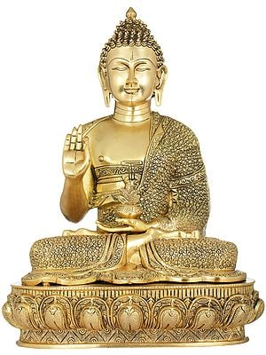 The Resplendent Buddha Gives You His Blessing