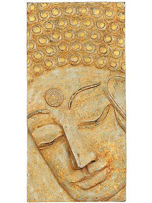 Lord Buddha Face Wall Hanging - Tibetan Buddhist