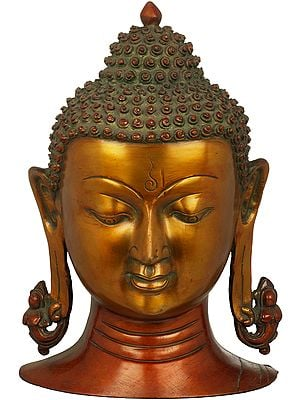 Lord Buddha Wall Hanging Mask (Tibetan Buddhist)