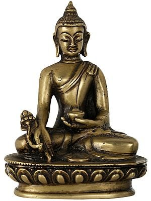 Tibetan Buddhist Medicine Buddha - Made in Nepal