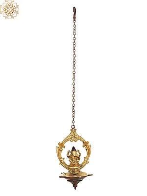 Lord Ganesha Roof Hanging Lamp