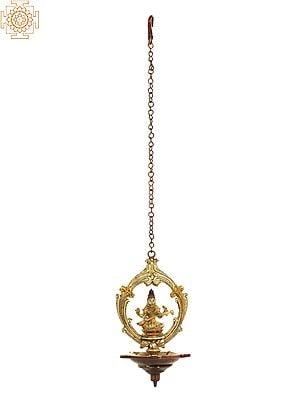 Goddess Saraswati Roof Hanging Lamp