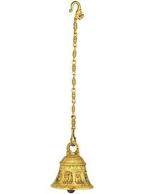 Krishna Temple Hanging Bell