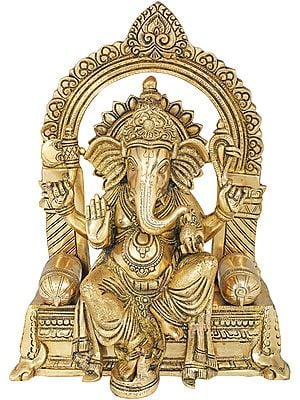 The Princely Roopa Of Lord Ganesha