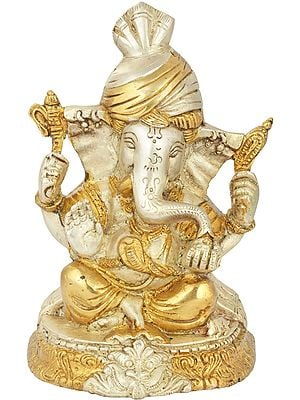 Lord  Ganesha Wearing a Turban