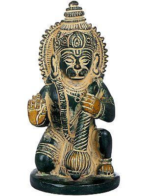 Seated Small Hanuman