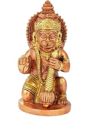 Seated Small Hanuman