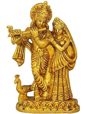 The Divine Lovers - Radha Krishna