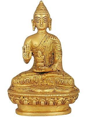 Small Size Blessing Buddha (Tibetan Buddhist Deity)