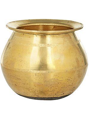 Ritual Bronze Lota (Pot) from South India