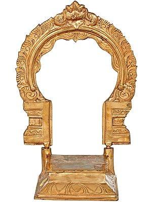 Deity Throne With Prabha