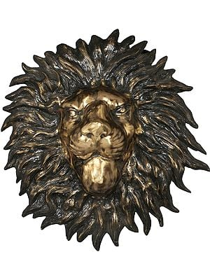 Mask of A Lion (Large-Sized Wall-Hanging)